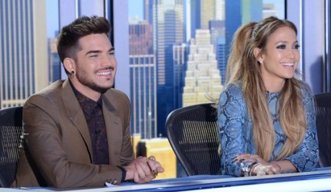 Adam Lambert as an American Idol Judge