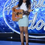 Najah Lewis on American Idol