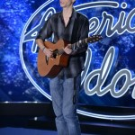 Aaron Bissell performs on American Idol 2015