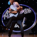 Rayvon Owen celebrates on Idol
