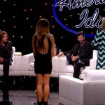 Maddie Walker & Rachel Hallack with the American Idol Judges