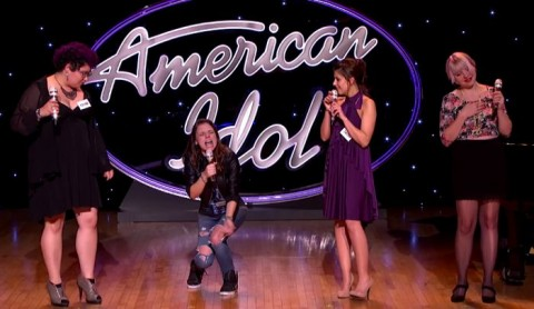 Violet Vixens on American Idol 2015