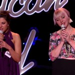 Joey Cook sings with Violet Vixens