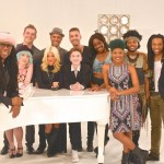 Nile Rodgers with American Idol Top 11