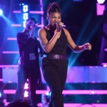Tyanna Jones performs on AMERICAN IDOL XIV