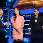 Ryan Seacrest and Women's US Soccer players Alex Morgan and Abby Wambach