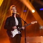 Clark Beckham performs on AMERICAN IDOL XIV