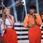 Iggy Azalea and Jennifer Hudson perform