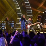 Qaasmin Middleton performs on AMERICAN IDOL