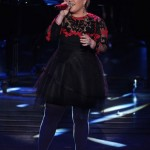 Kelly Clarkson performs on AMERICAN IDOL XIV