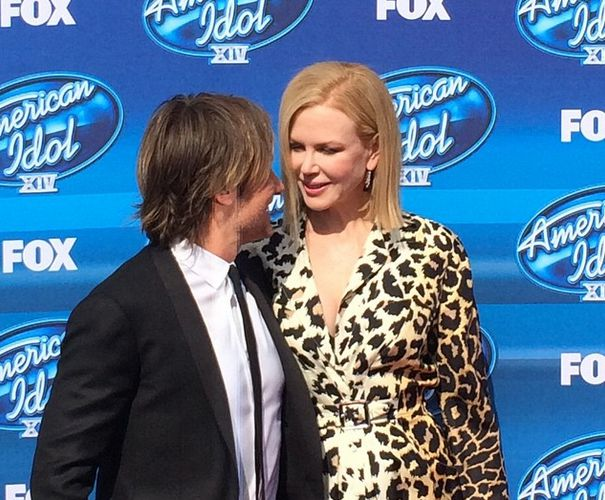 Keith Urban with wife Nicole Kidman