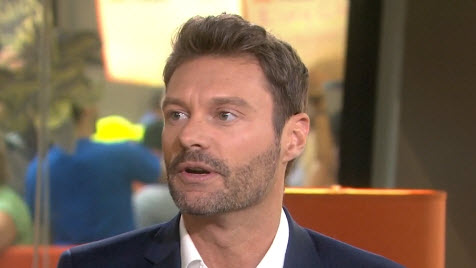American Idol host Ryan Seacrest on Today