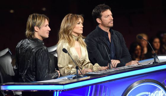 American Idol Judges at Hollywood Week