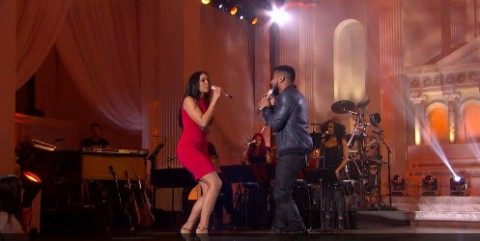 Jordin Sparks and Manny Torres American Idol Top 24 duet (FOX)