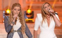 Emily Brooke & Lauren Alaina duet on American Idol