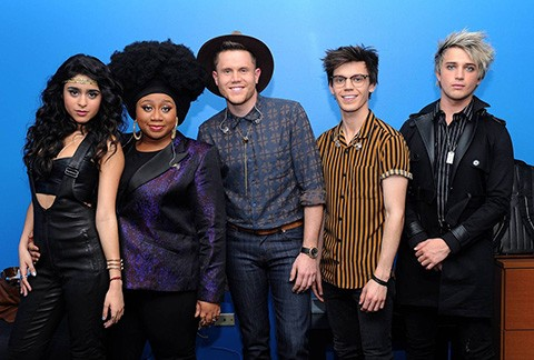 The American Idol 2016 Top 5. (Fox)