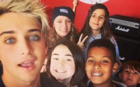 American Idol 2016 finalist Dalton Rapattoni during hometown visit (FOX)