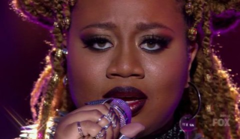 La'Porsha Renae performs on American Idol 2016