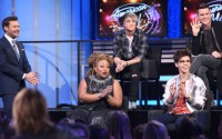 Ryan Seacrest and the American Idol Top 4