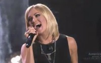 American Idol winner Carrie Underwood takes the stage with Keith Urban (FOX)